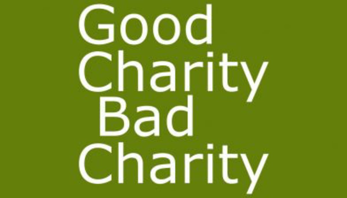 Image result for bad charity
